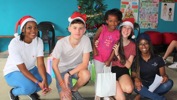 Christmas party brings joy to Alex children